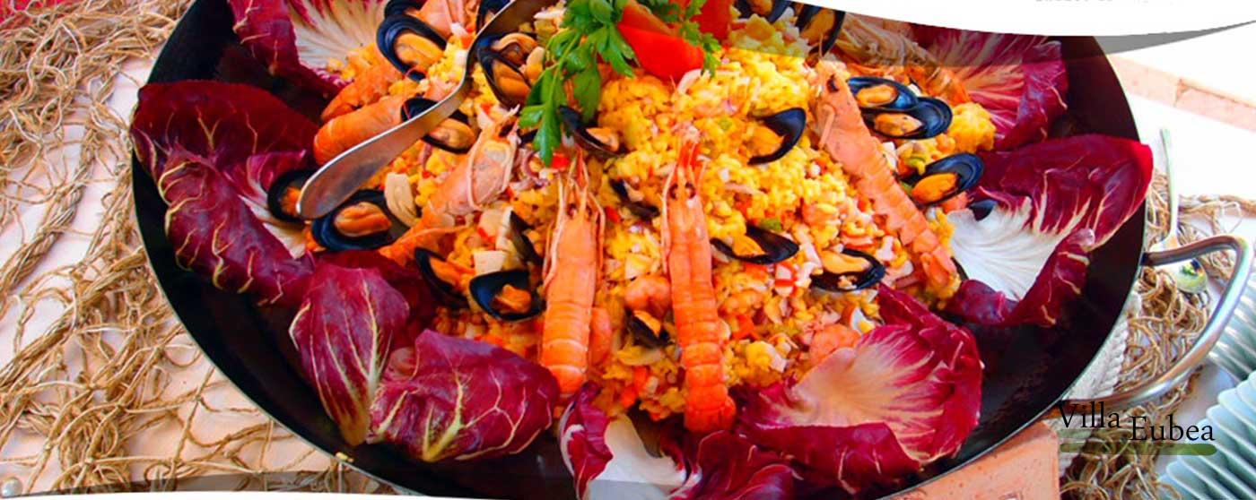 Villa Eubea Cucina